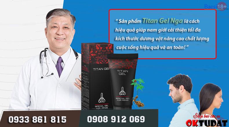 Dùng Titan Gel có tác dụng phụ không
