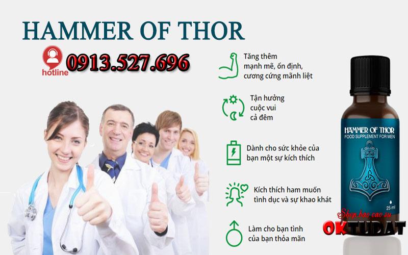 Cách sử dụng Hammer of thor dạng viên